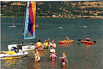 Kayaking for Kids - Hood River WaterPlay