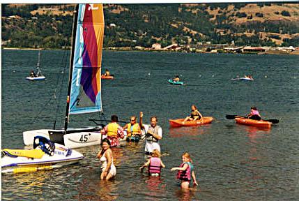 Kayaking for Kids - Hood River WaterPlay