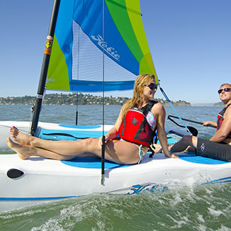 Hobie Cat Sailing