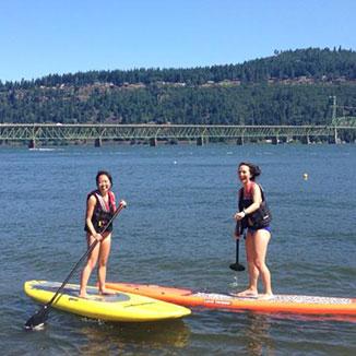 Stand Up Paddleboarding aka SUP